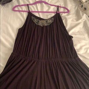 Lane Bryant Black Cinched Dress